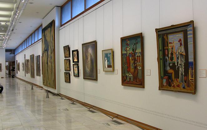 Произведения искусства берлинской картинной галереи