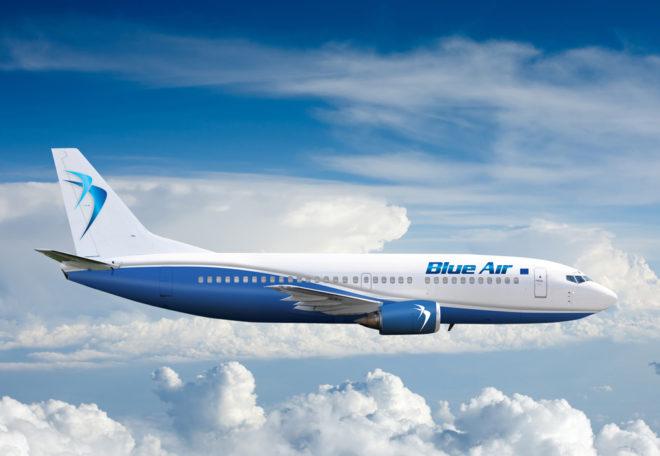 Перелеты с компанией Blue Air