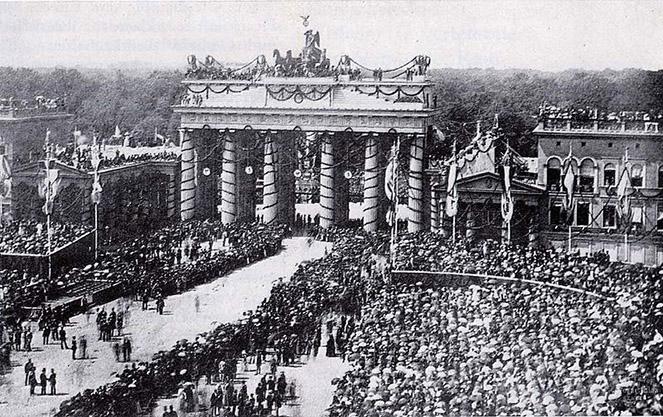 История бранденбургских ворот