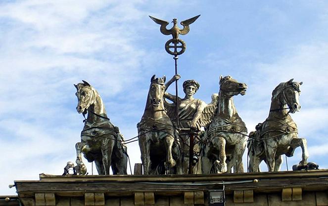 Архитектурная символика бранденбургских ворот