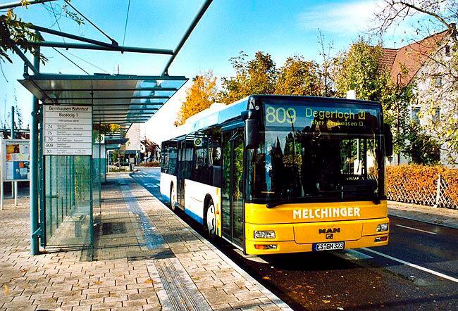Общественный транспорт Германии