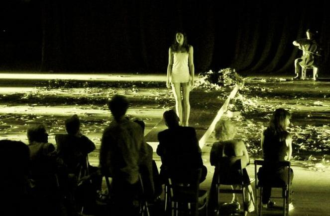 Спектакль в театра в Дюссельдорфе