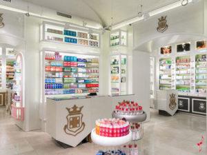 Интерьер испанских аптек