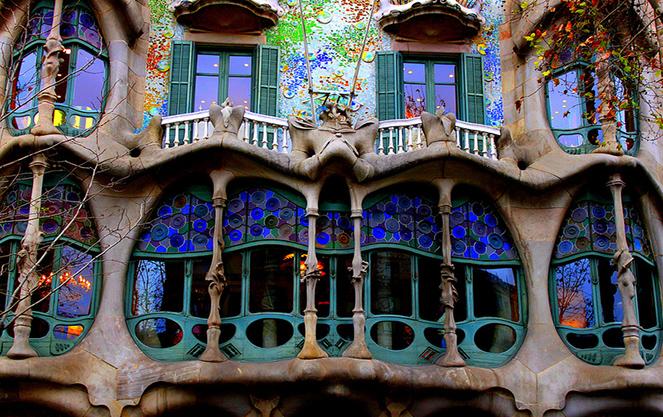 Дом костей в Барселоне
