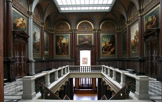 Публичная справочная библиотека Кунстхалле