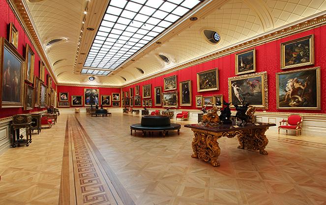 Выставочный зал в Кунстхалле