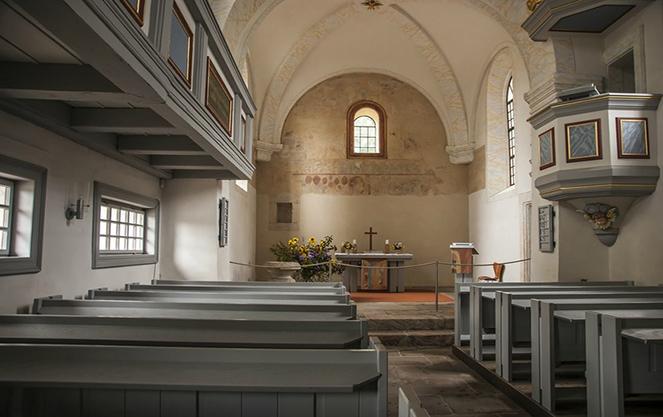 Гарнизонная церковь внутри