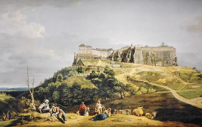 История крепости Кенигштайн
