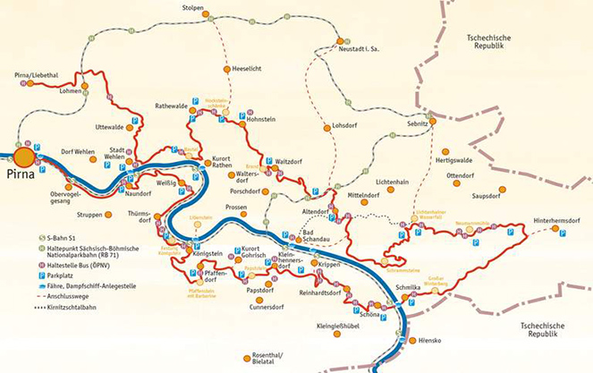 Карта Малервег