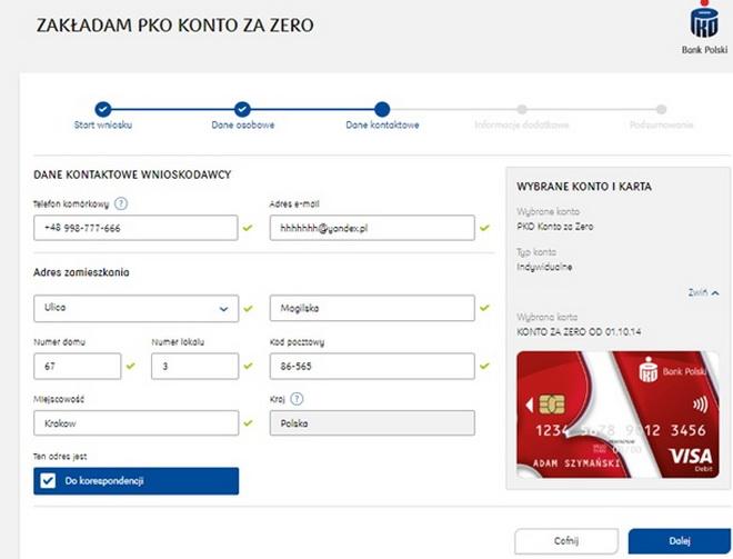 Инструкция открытия счета в польском банке