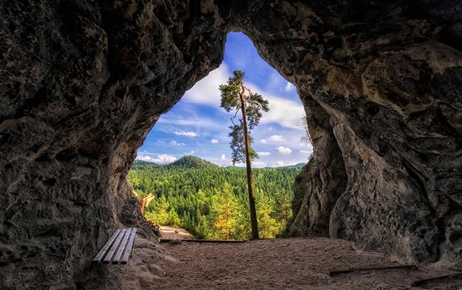 Ущелья в горах