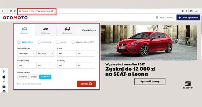 Обзор Отомото. Польша — популярного сайта по продаже автомобилей