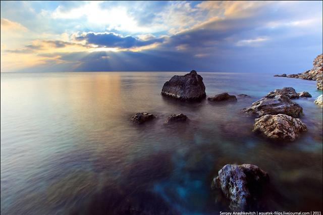 Красивые фотографии зимнего Крыма