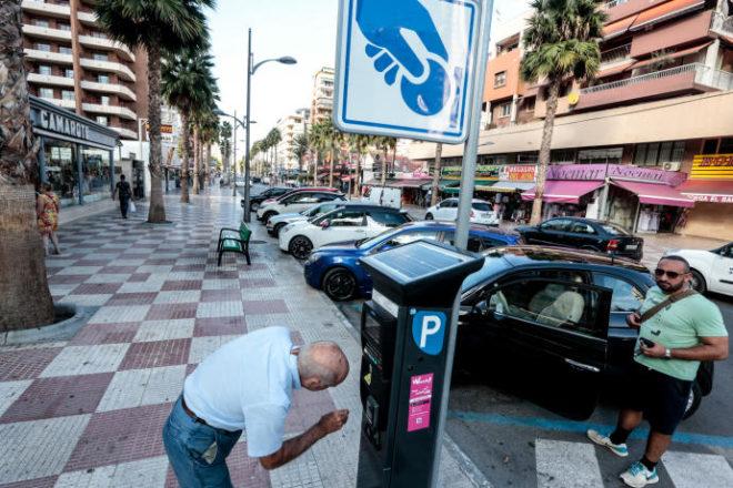 Паркомат Испании