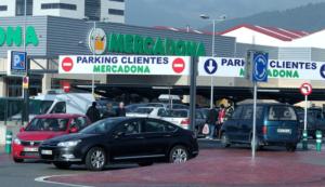 Парковка в торговых центрах Испании