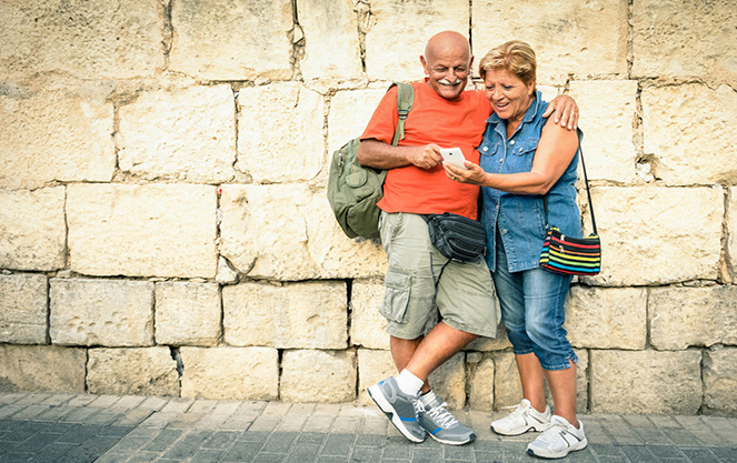 Испанские пенсионеры