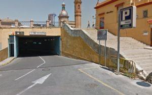 Подземный паркинг в Испании
