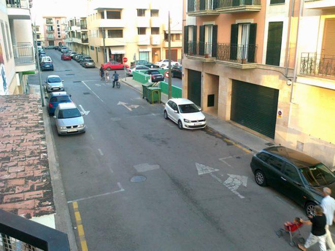 Разметка парковки в Испании