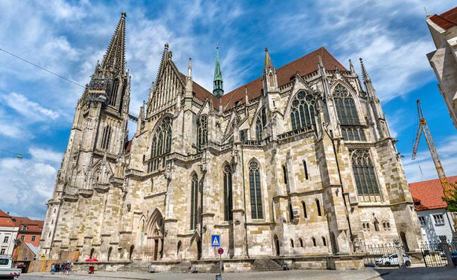 Регенбургский собор в Германии