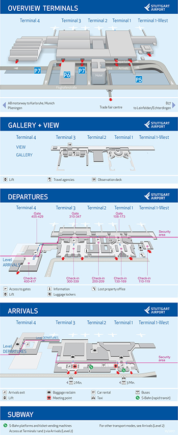 Терминалы аэропорта Штутгарта