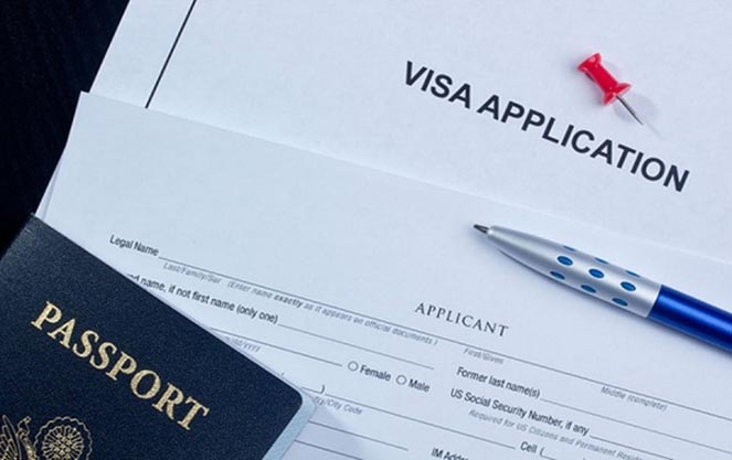Список документов на визу