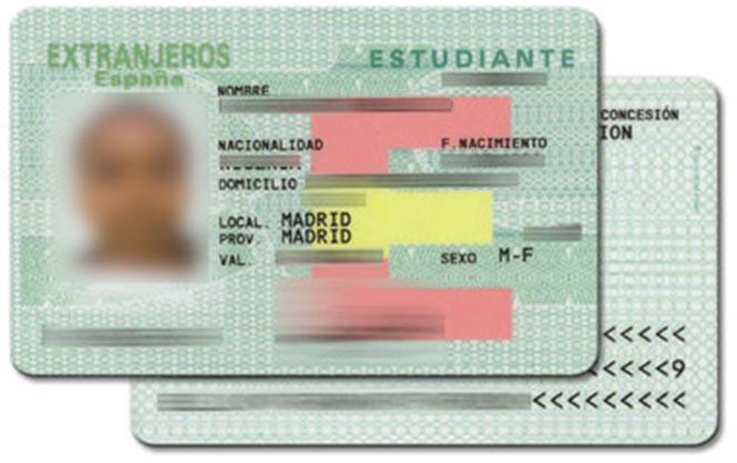 Карточка иностранного студента