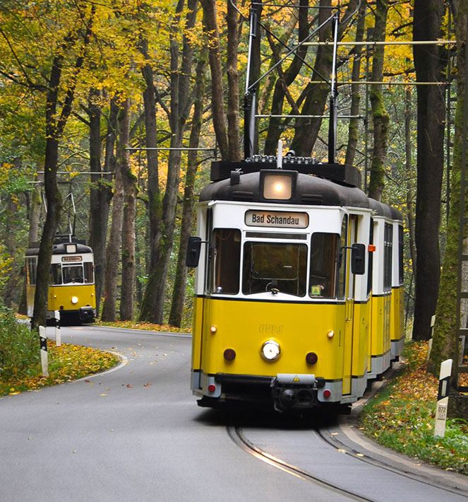 Городские трамваи