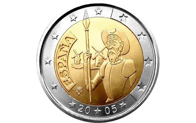 Памятные и особенные испанские монеты