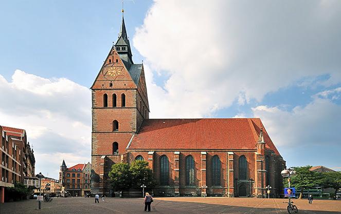 Церковь святого креста в ганновере