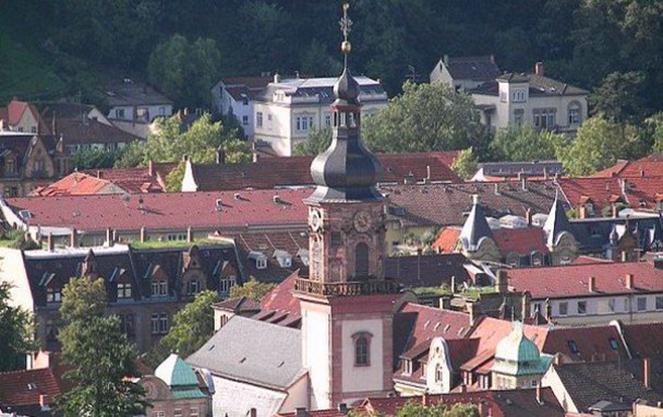 Церковь святого петра в гейдельберге