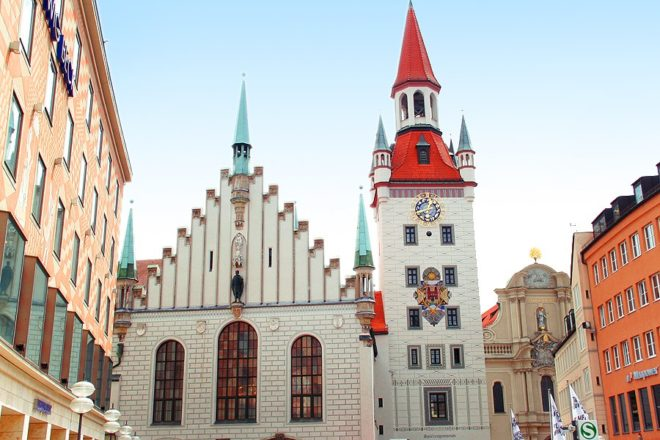 Старая Ратуша Мюнхена