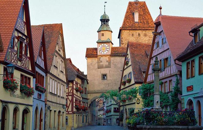 Особенности немецкой дороги сказок