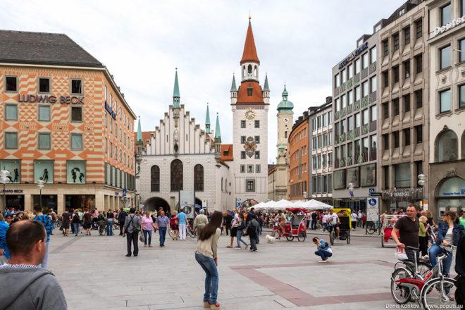 Ратуша в Мюнхене