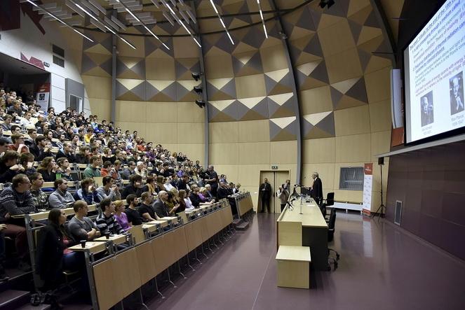 Аудитории в Техническом университете в Брно