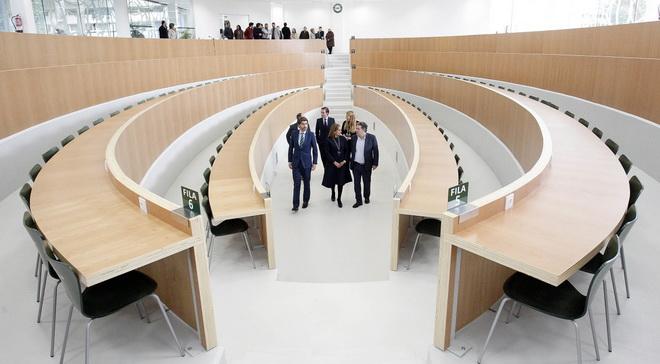 Зал для конференций в UNED
