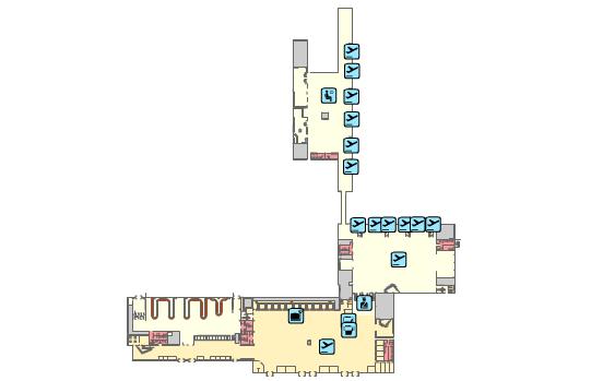 Терминал аэропорта Реус