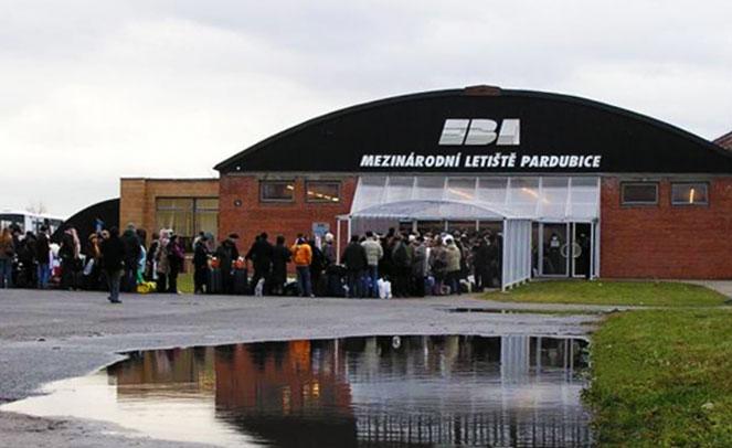 Аэропорт в Пардубице