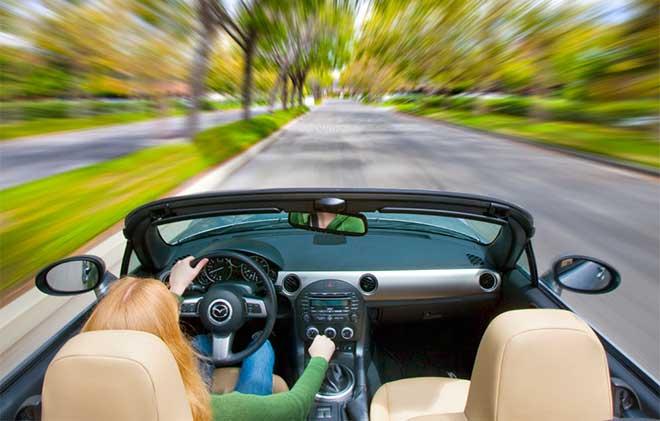 За рулем авто
