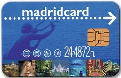 Карточка Madrid Card