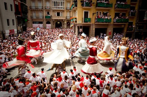 Традиционный праздник Испании