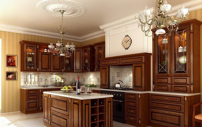 Кухня в чешском стиле