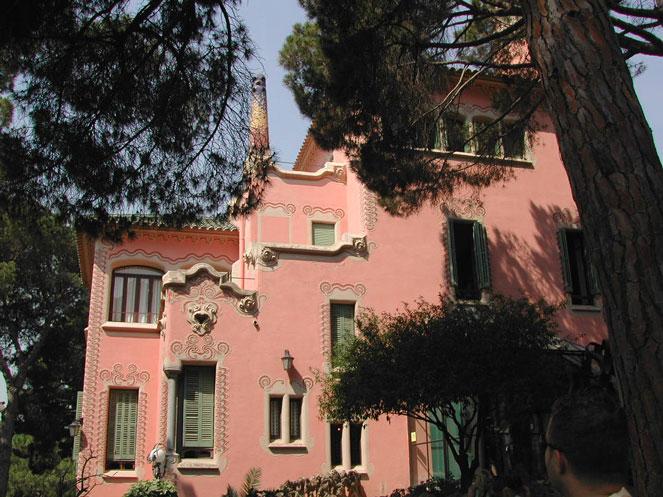 Дом-музей Гауди в Барселоне