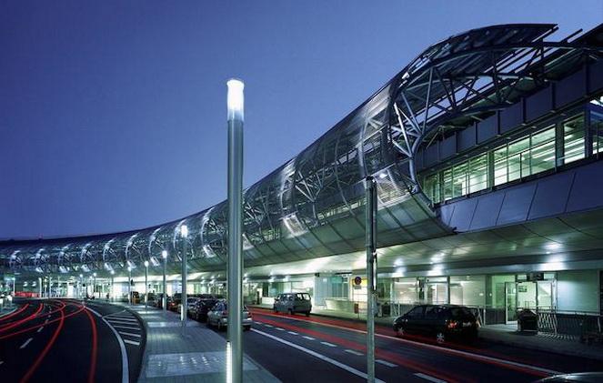 Аэропорт в Дюссельдорфе