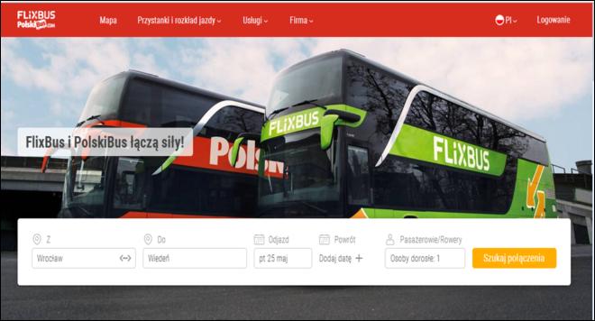 Сайт PolskiBus