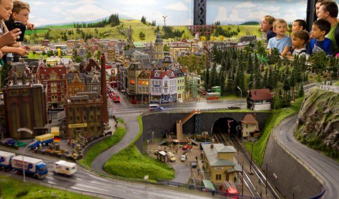 Страна миниатюр в Гамбурге