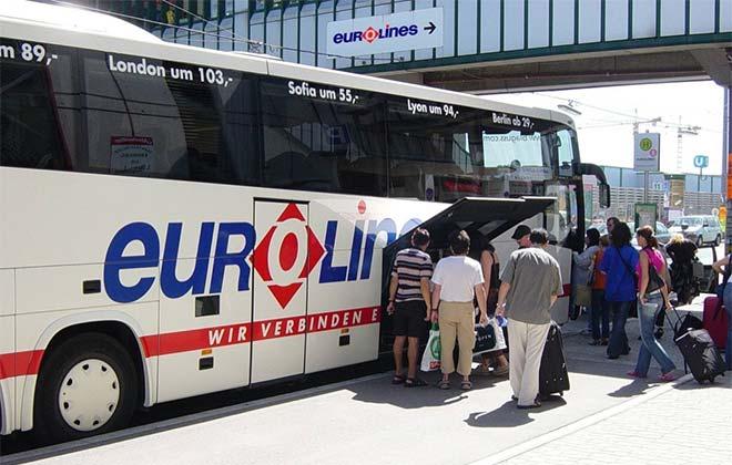 Автобус из Кёльна в Прагу