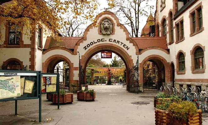 Лейпцигский зоопарк в  2021  году