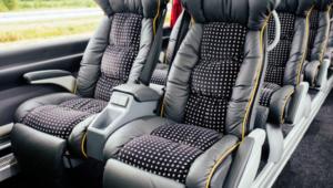 Lux Express сидения внутри