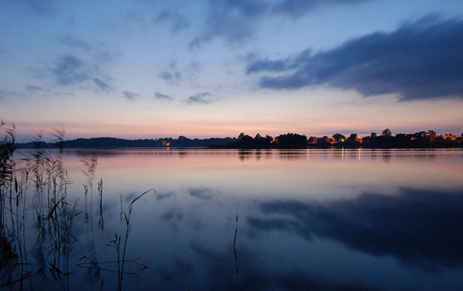 Вечер на мазурских озерах