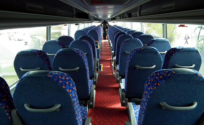 Сервис для пассажиров Megabus